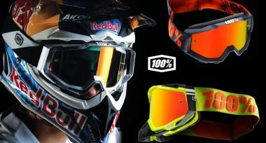 Novinka: Motokrosové brýle 100%