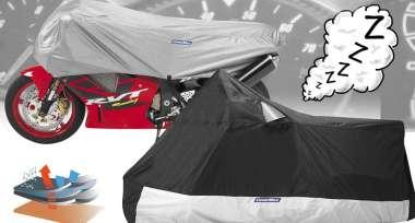 Skvělé ochranné plachty na motorku