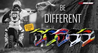 Novinka: Ultralehké motokrosové helmy MX Agresive
