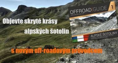 Publikace Offroad Guide 1 - Alpské šotoliny v prodeji!