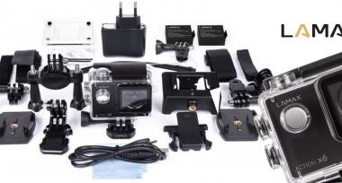 Nová akční FullHD kamera skladem!