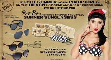 Stylové sluneční brýle Rusty Pistons