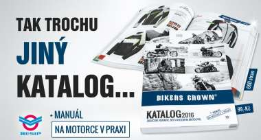 Nový KATALOG BIKERS CROWN 2016