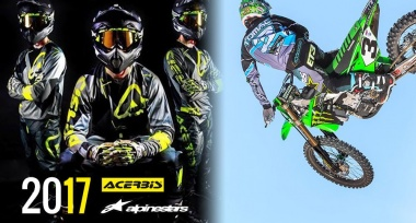 MX komplety Alpinestars a Acerbis z kolekce 2017 skladem!