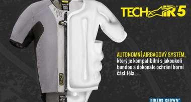 Náš tip: Airbagová vesta Alpinestars Tech-Air 5