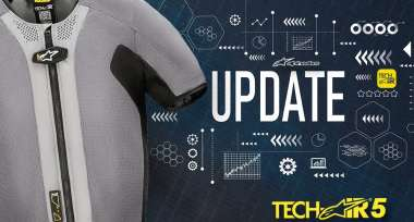 Aktualizace softwaru airbag vesty Tech-Air 5
