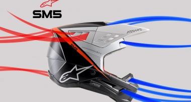 Novinka: Motokrosové helmy Alpinestars S-M5