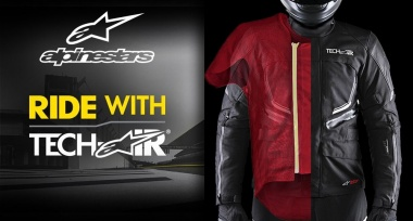 Novinka: Airbag systém Alpinestars Tech-Air®