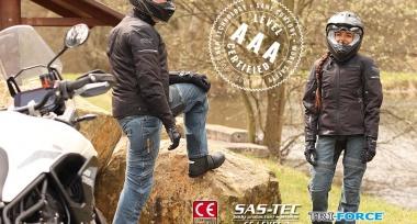 Nová generace motocyklových jeans Parado CE AAA