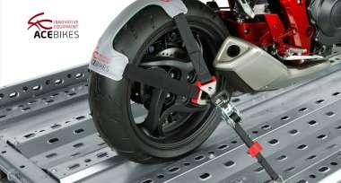 Inovativní příslušenství Acebikes pro přepravu a manipulaci s motocykly