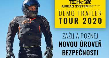Tech-Air demo trailer TOUR 2020 v plném proudu