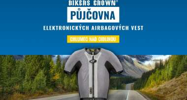 Půjčovna elektronicých airbagových vest v Bikers Crown