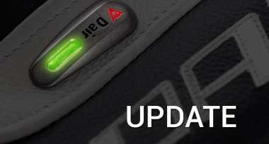 Aktualizace softwaru airbag vesty Dainese Smart Jacket